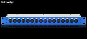 Teknosign Patchbay XLR femelle 16 Points