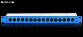 Teknosign Patchbay male XLR 16 Point