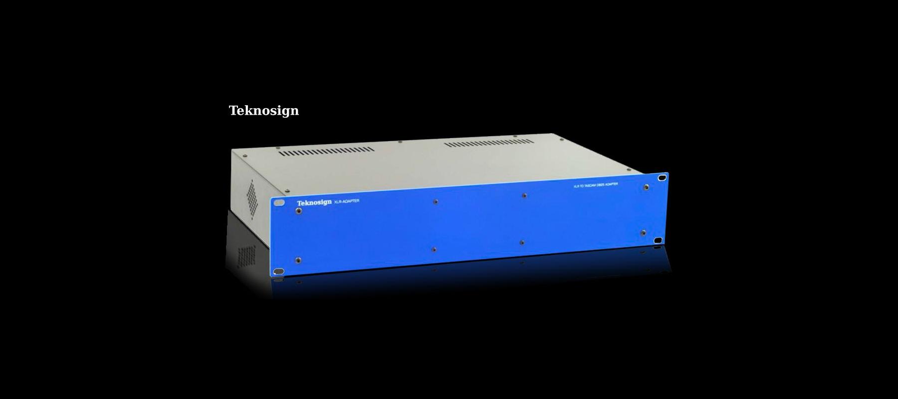 Teknosign XLR Adapter