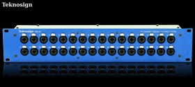 Teknosign Patchbay Combo XLR 32 Point