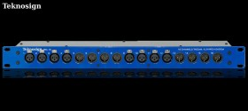 Teknosign Patchbay XLR Male & femelle 16 Points