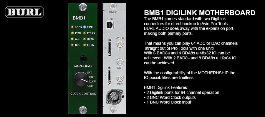 Burl Audio Mothership B80