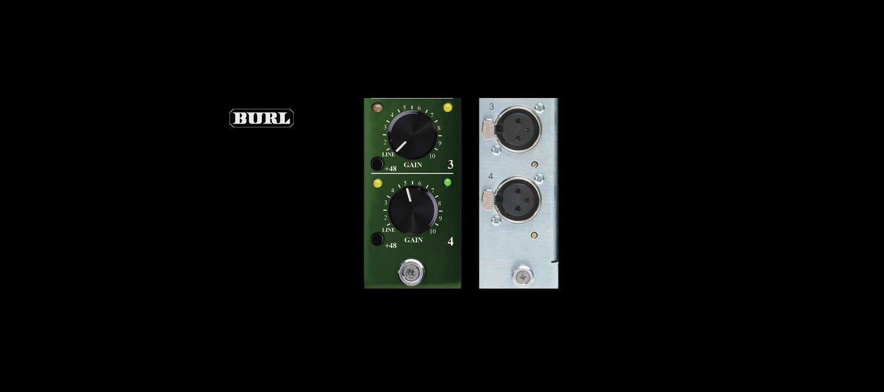 BURL Audio B4 MIC PRE