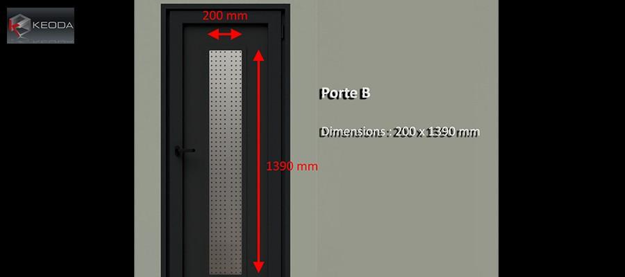 Door B