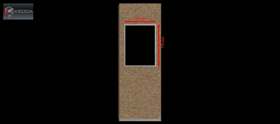 Window Model A for Acoustic Space cabins