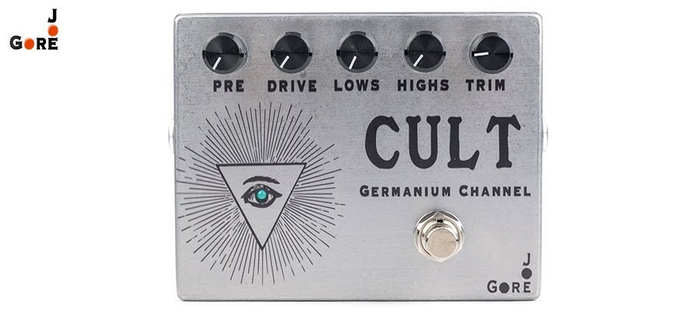 Joe Gore Cult Germanium Channel Overdrive