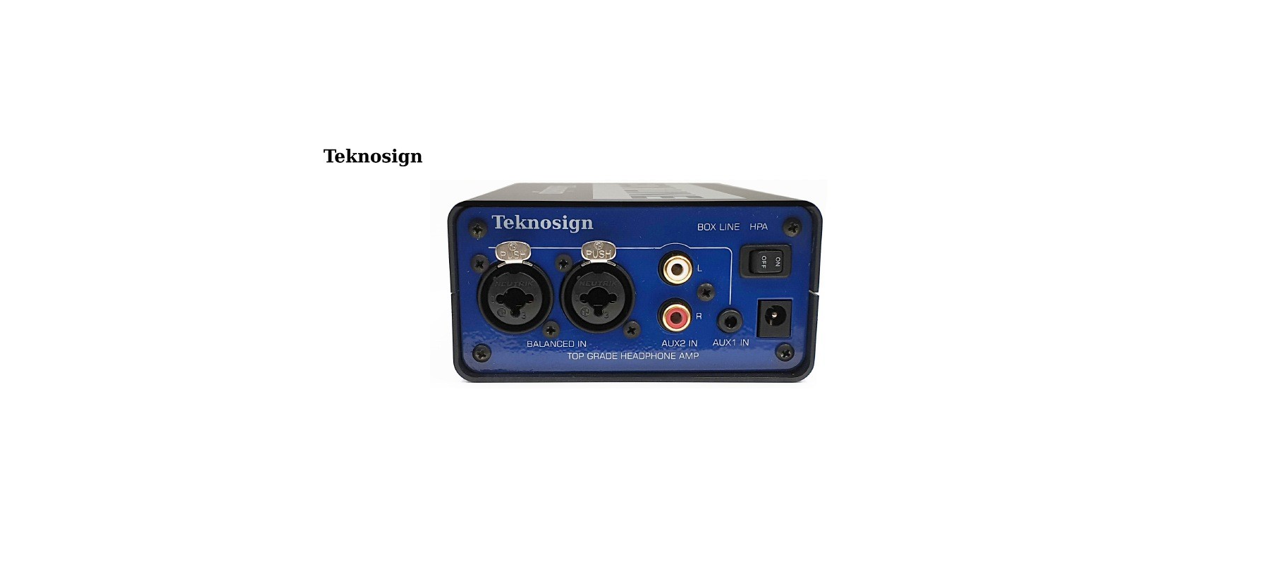 Teknosign HPA