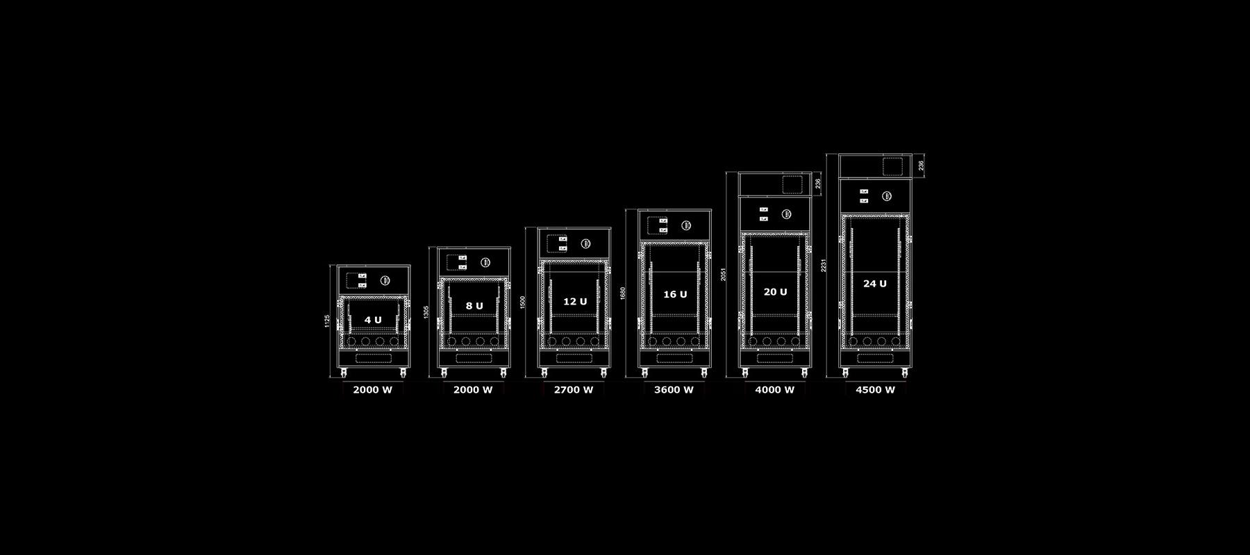 Silent Server Rack