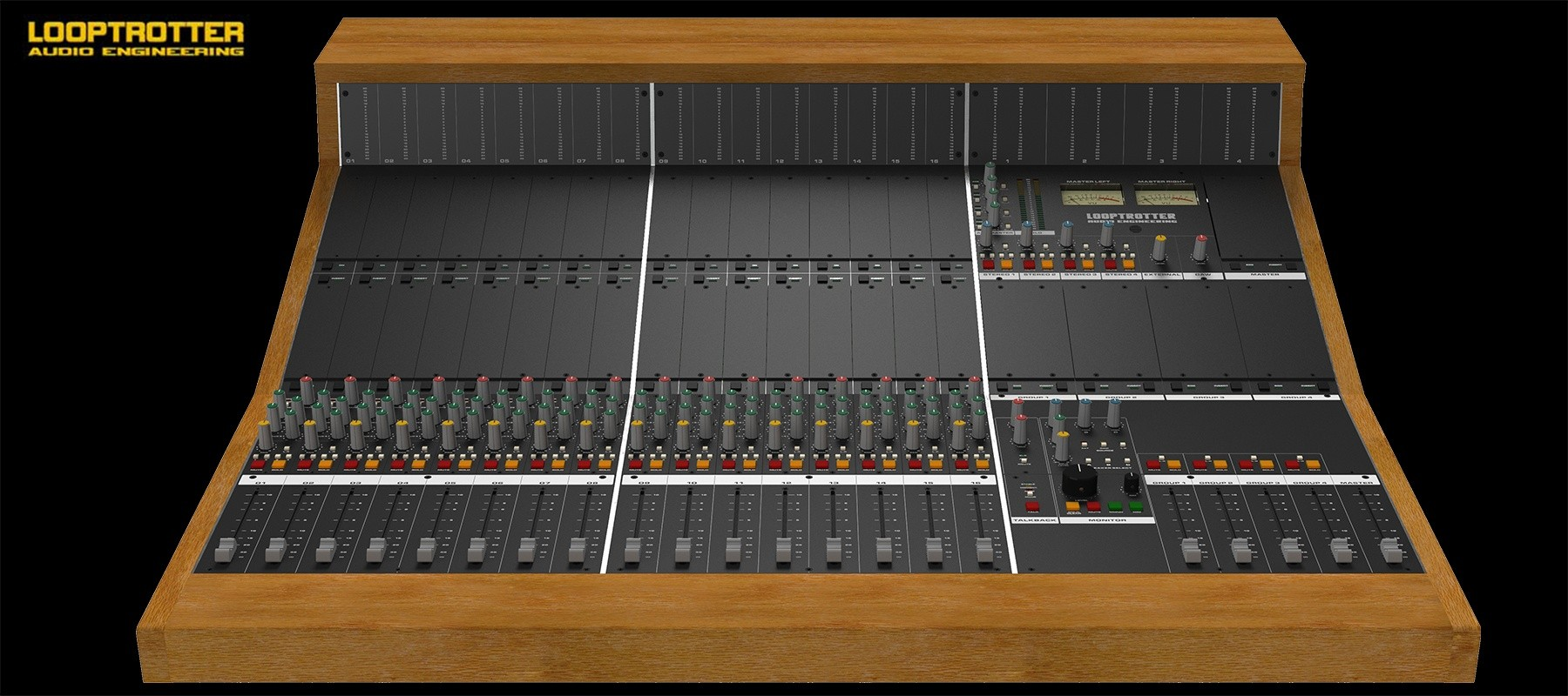 Looptrotter Modular Console 16 channel