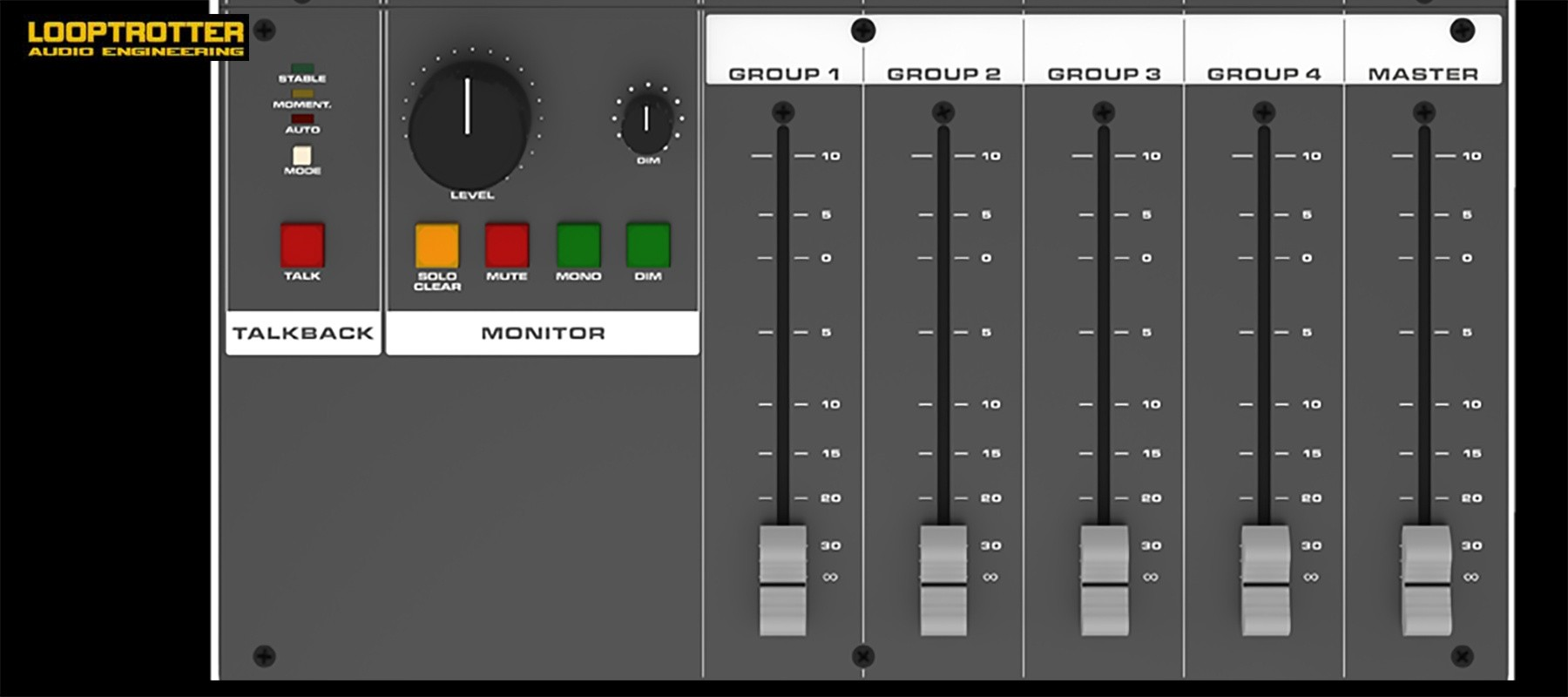 Looptrotter Modular Console 24 channel