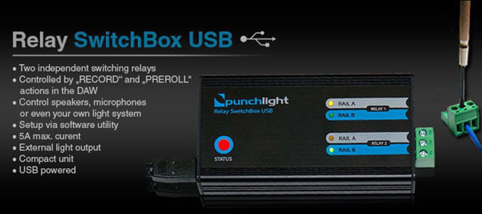 Punchlight Relay Swtchbox USB