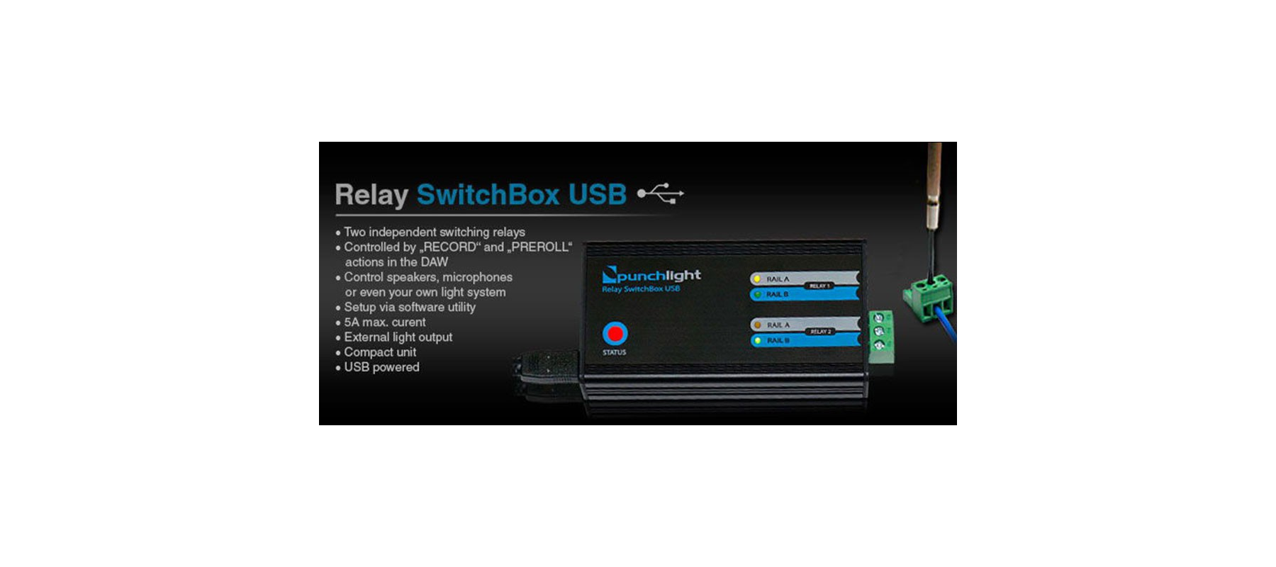 Punchlight Relay Swtchbox USB