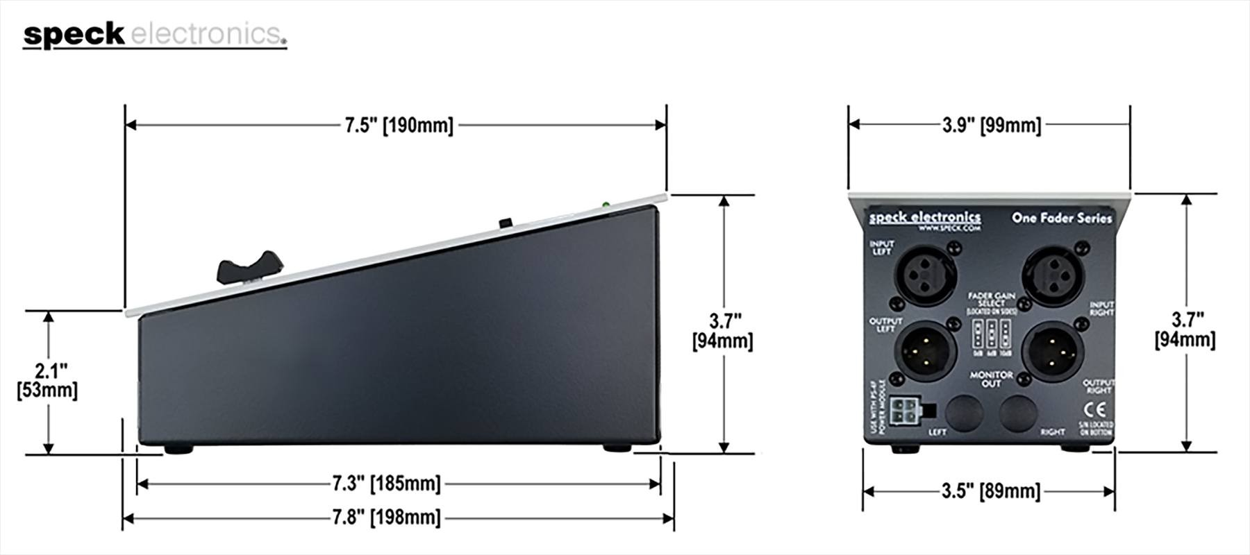 Speck Electronics Fader2