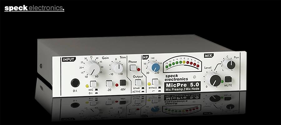 Speck MicPre 5.0 Mic Pre / Mix Node