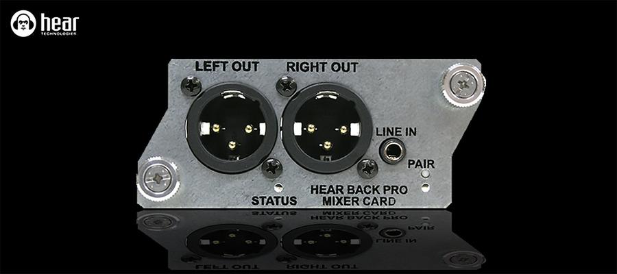 Word Clock card for Hear Back PRO hub