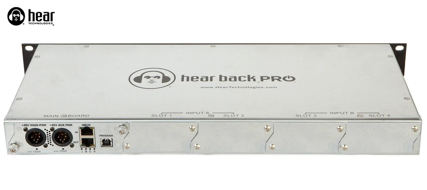 Hear Back Pro Hub Unité Centrale