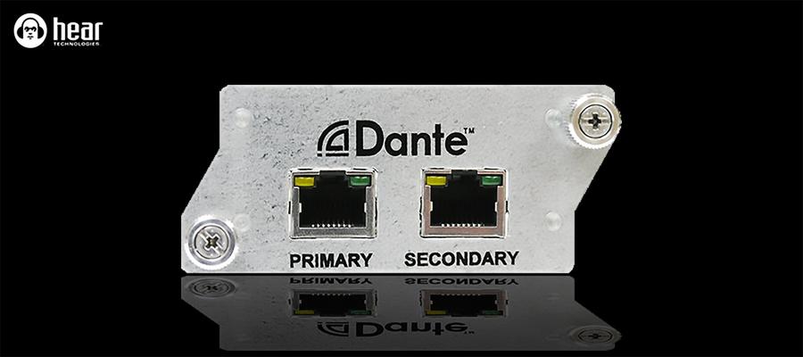 Hear Back Carte Dante pour PRO Hub