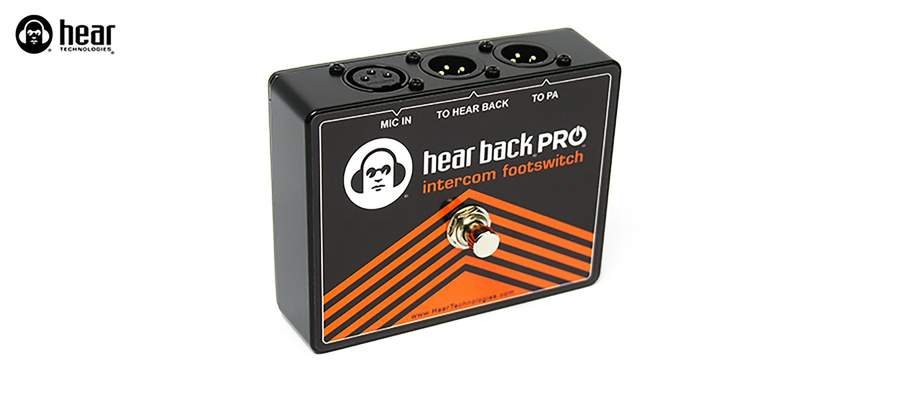 Hear Technologies PRO Intercom Footswitch