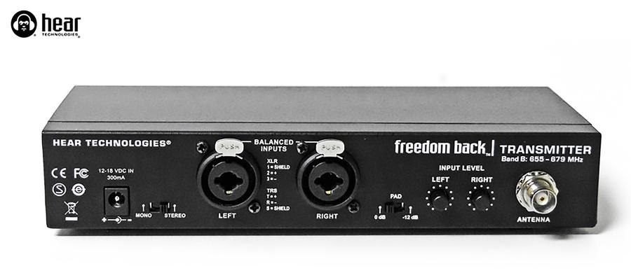 Freedom Back éméteur Band A