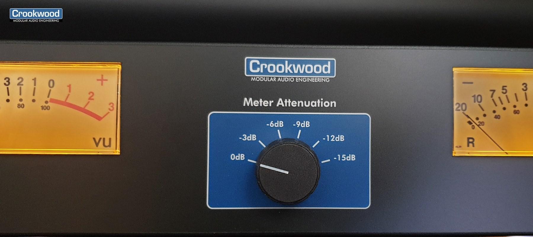 Crookwwod Vu mètre stéréo