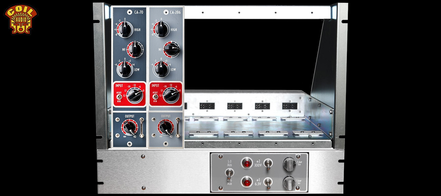 Coil Audio PS6 Rack Tray & Power Supply