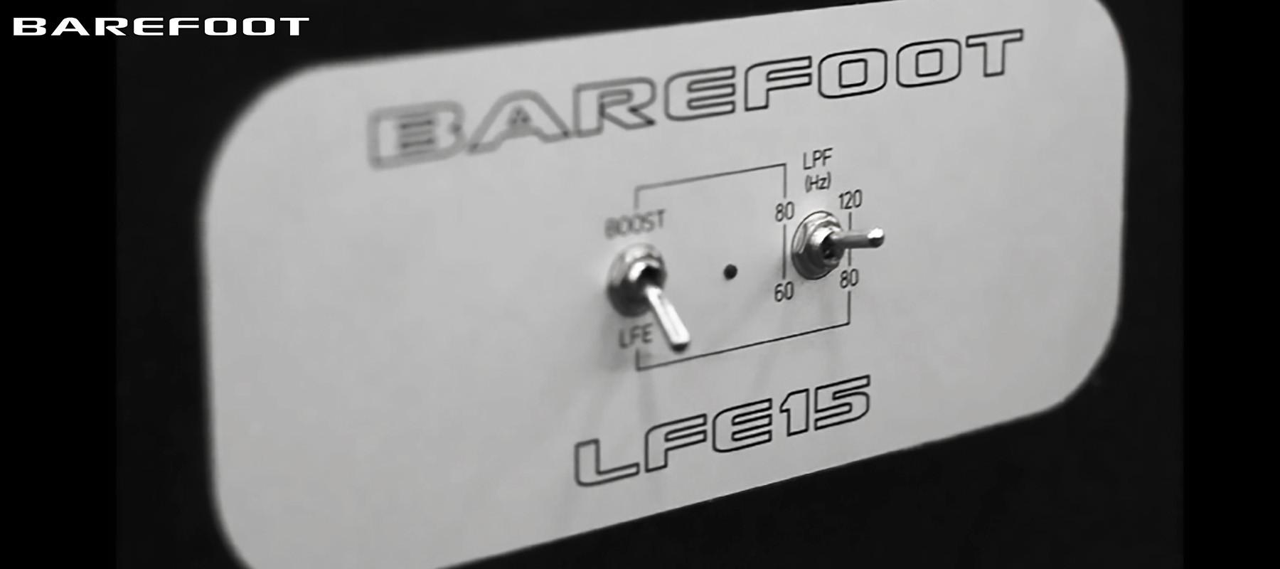 Barefoot LFE15