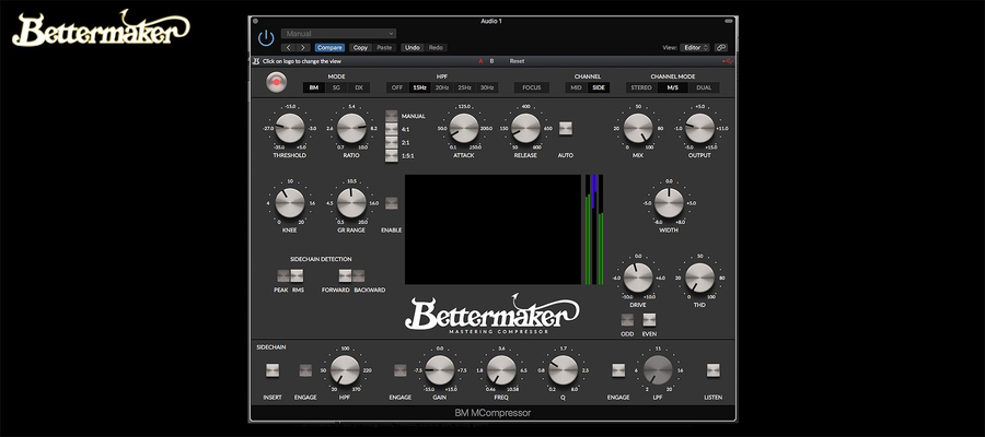Bettermaker Mastering Compressor