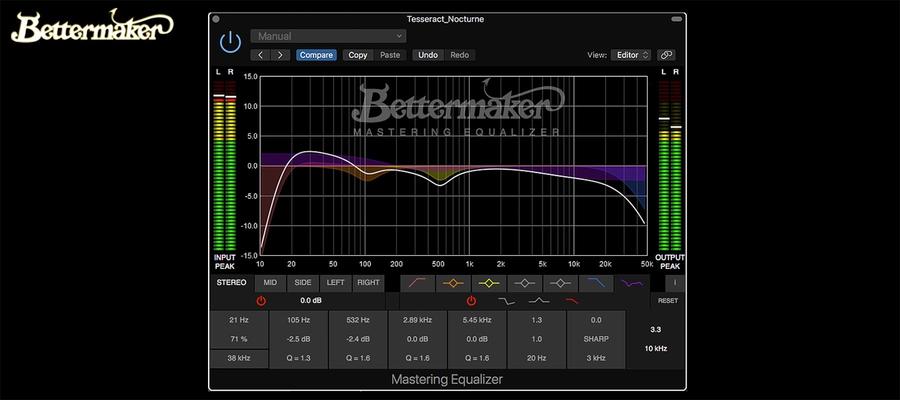 Bettermaker Mastering Equalizer