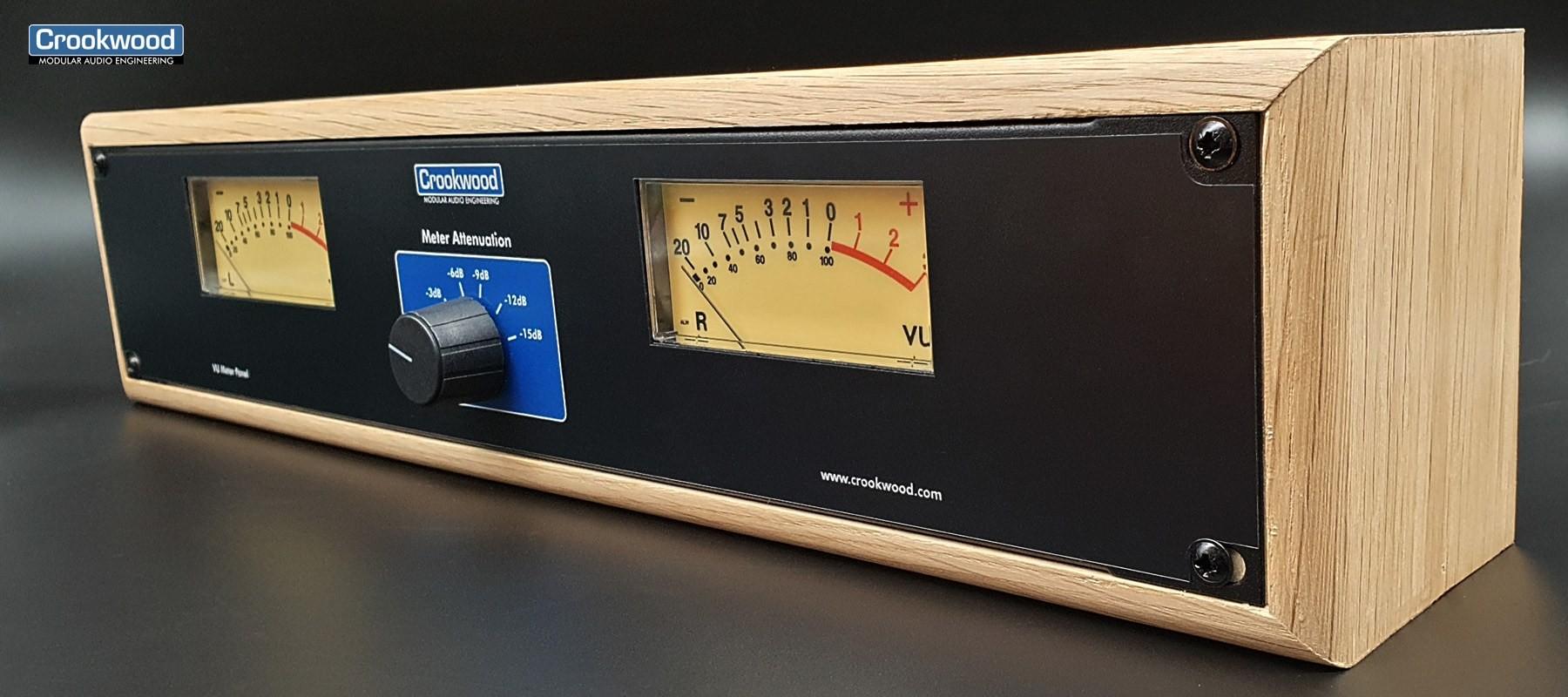 Crookwwod Stereo Vu meteravec rack en bois