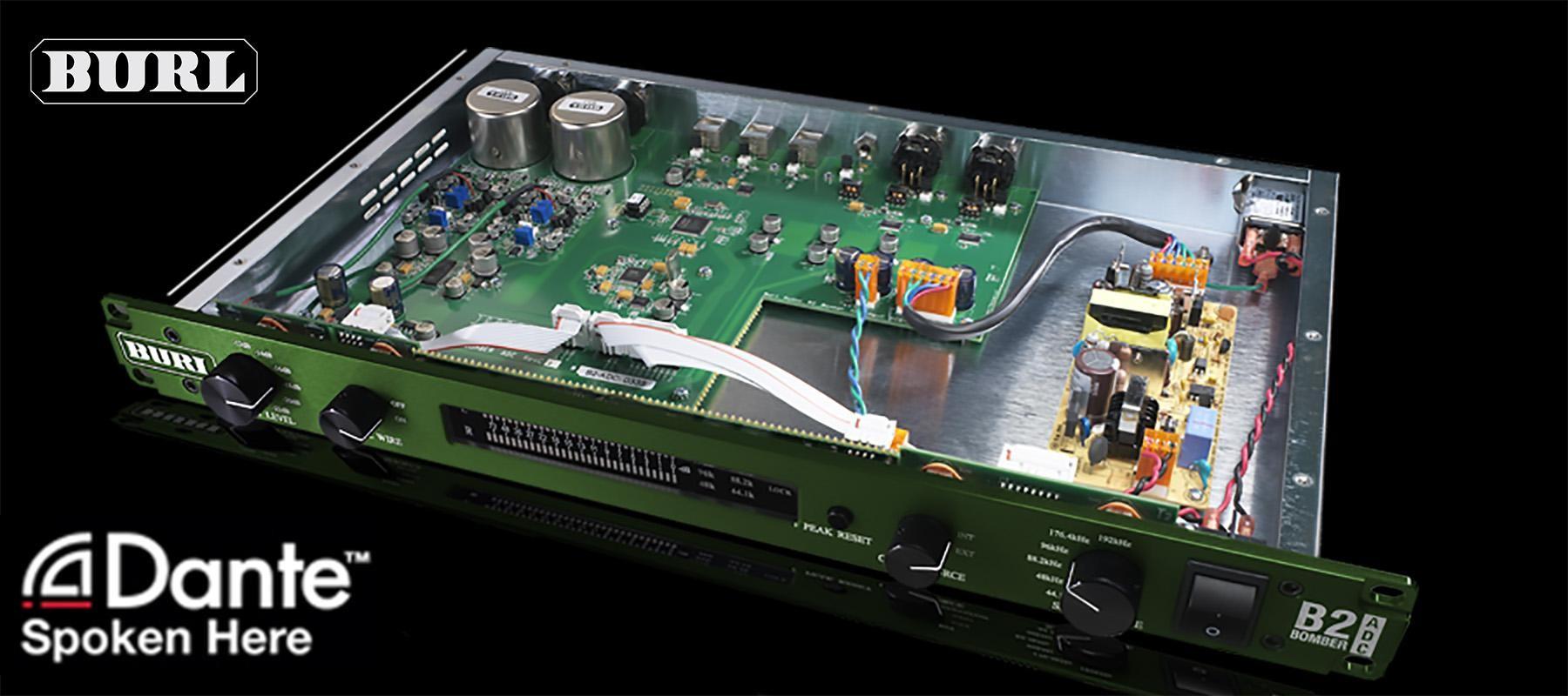 BURL Audio B2 Bomber ADC Dante Open