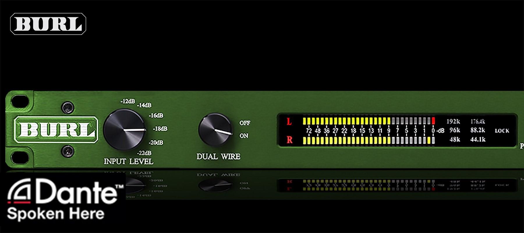 BURL Audio B2 Bomber ADC Dante Left