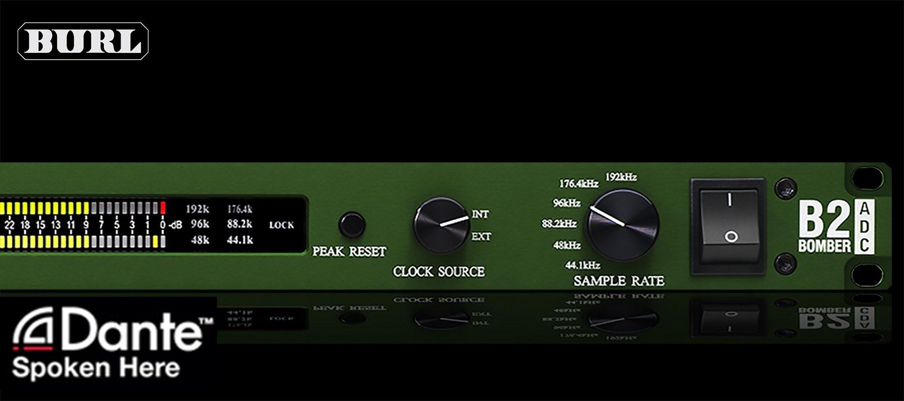 BURL Audio B2 Bomber ADC Dante Right