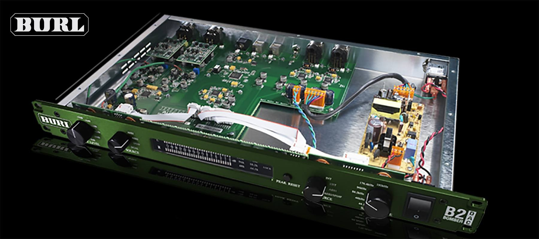 Burl Audio B2 Bomber DAC Ouvert