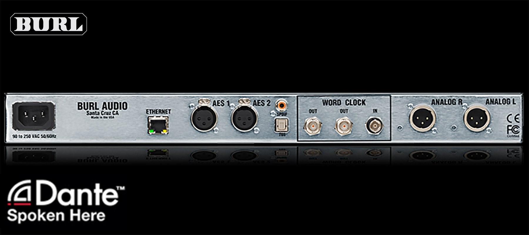 Burl Audio B2 Bomber DAC Dante Back