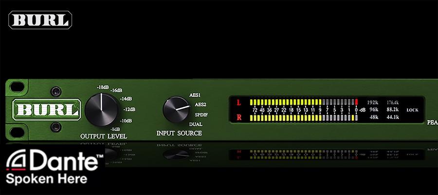 Burl Audio B2 Bomber DAC Dante Left