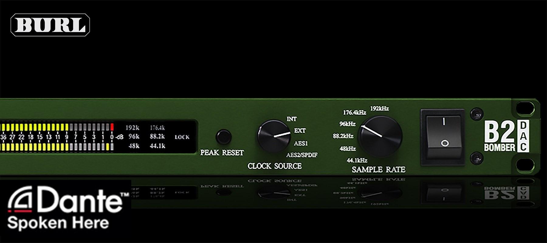 Burl Audio B2 Bomber DAC Dante Right