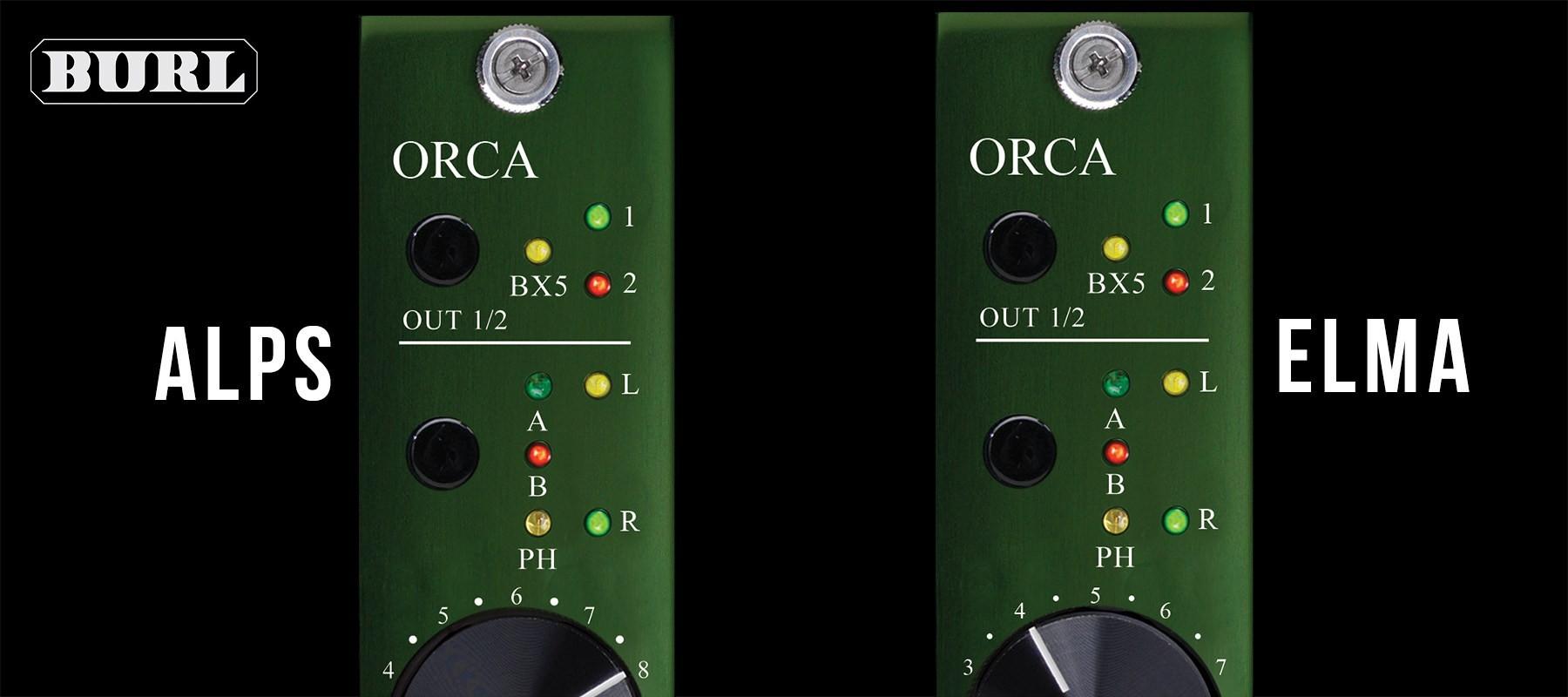 Burl Audio B22 ORCA Alps & ELMA Top