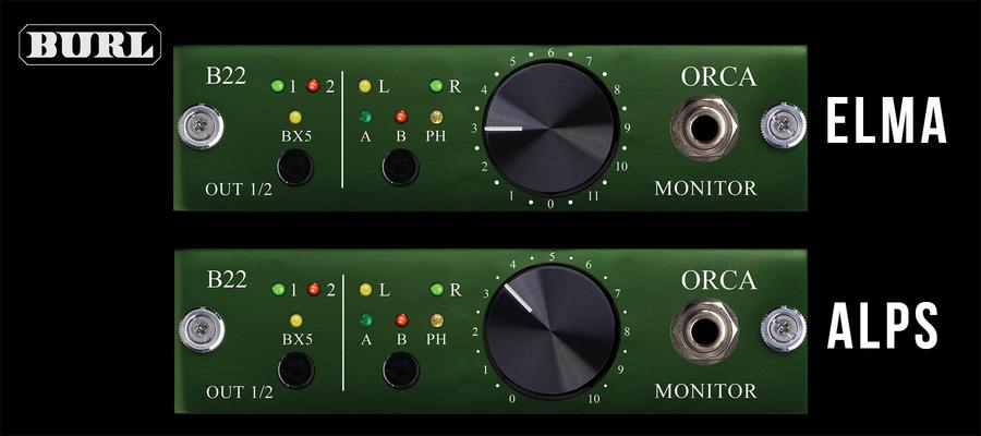Burl Audio B22 ORCA Horizontal for B16 Mothership