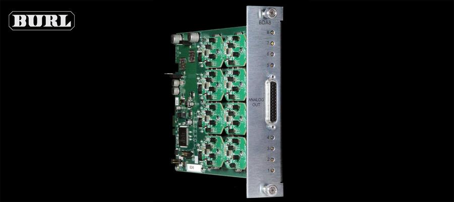 BURL Audio BDA8 Components
