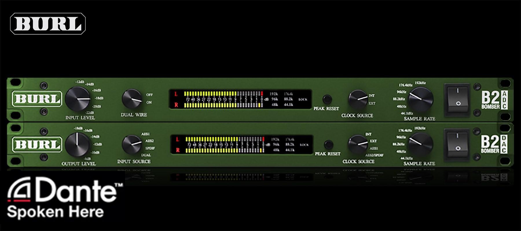 Burl B2 ADC-DAC Dante Bundle
