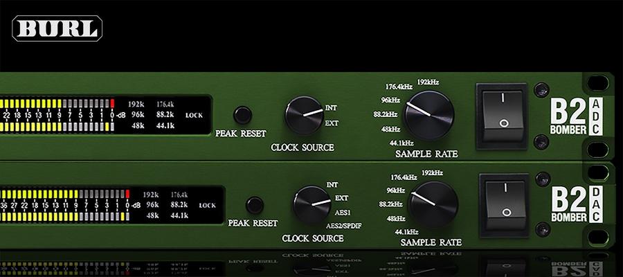 Burl B2 ADC-DAC Dante Bundle Right