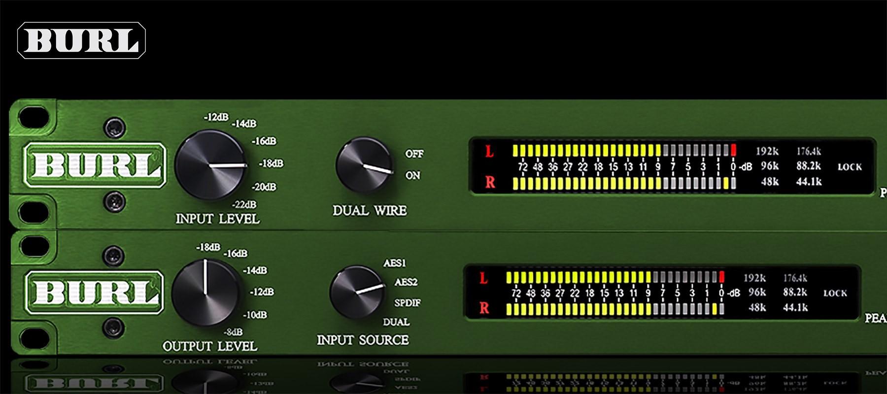 Burl B2 ADC-DAC Bundle Left
