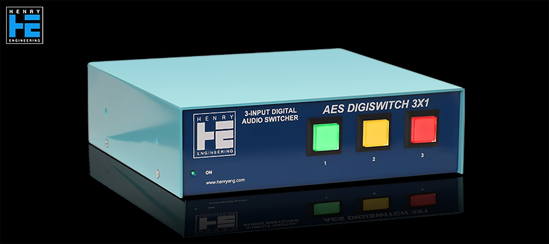 Henry Engineering AES DigiSwitch 3X1