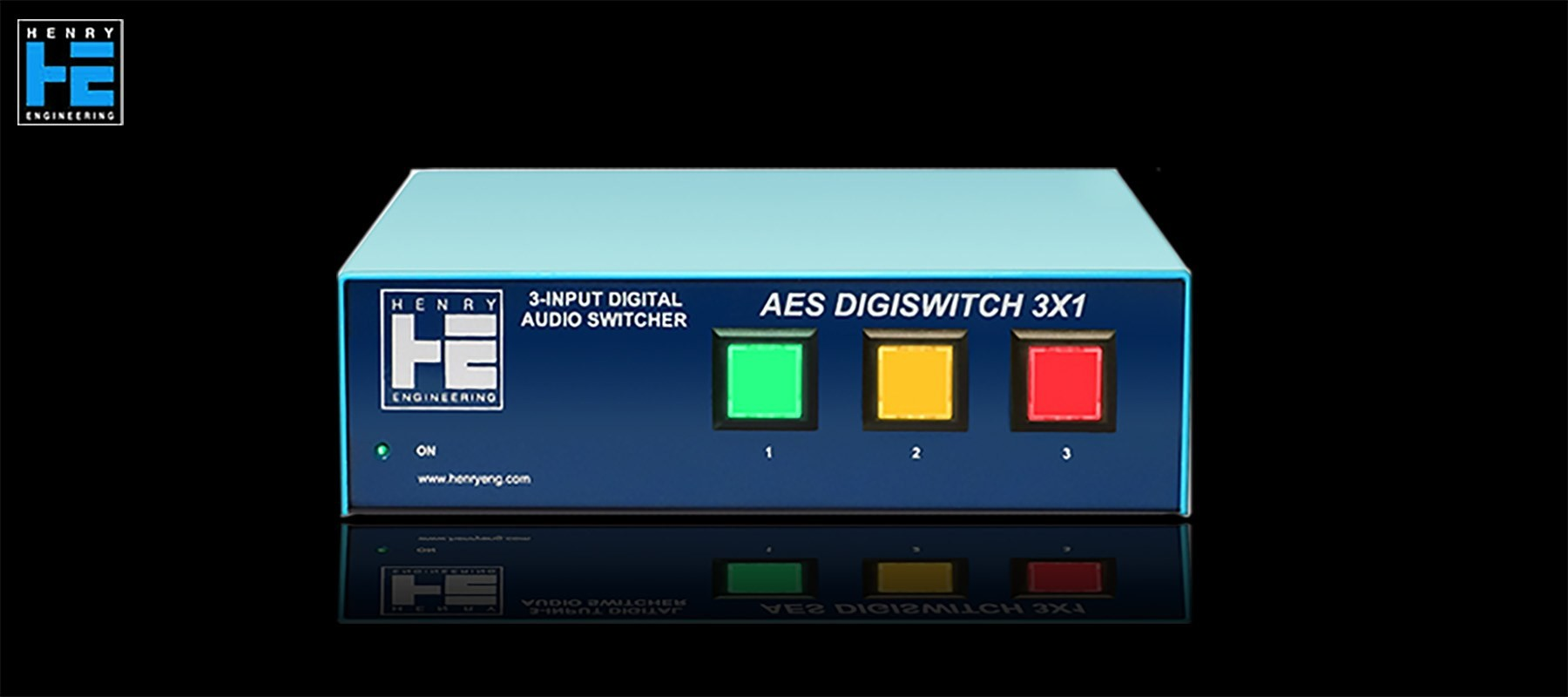 Henry Engineering AES DigiSwitch 3X1 - Avant