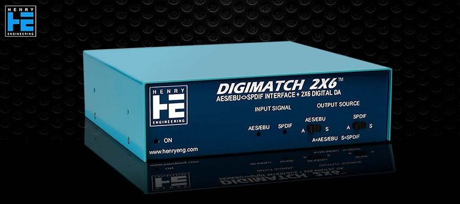 Henry Engineering DigiMatch 2x6