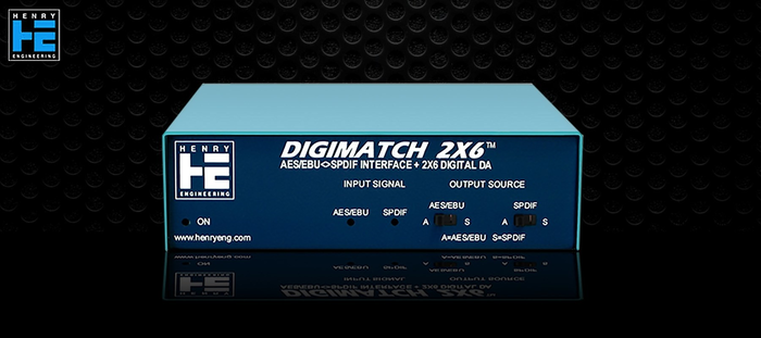 Henry Engineering DigiMatch 2x6 - Avant