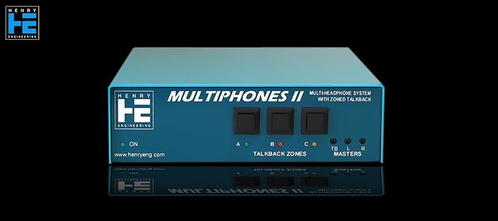 Henry Engineering  MultiPhones II - Avant