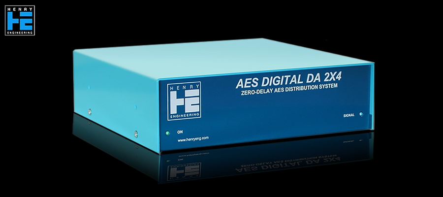 Henry Engineering AES Digital DA 2X4