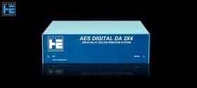 Henry Engineering AES Digital DA 2X4 - Front