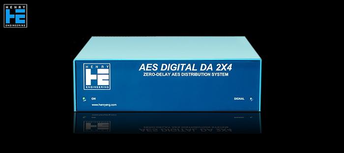 Henry Engineering AES Digital DA 2X4 - Avant